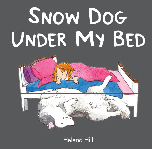 View Snow Dog Under My Bed by Helena Hill