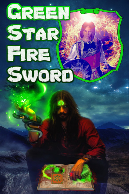 View Green Star Fire Sword by Fire Brand Sword