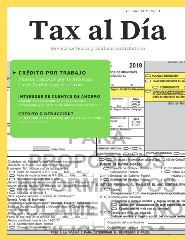 View Revista Tax al Día by Christian Carrión Santiago