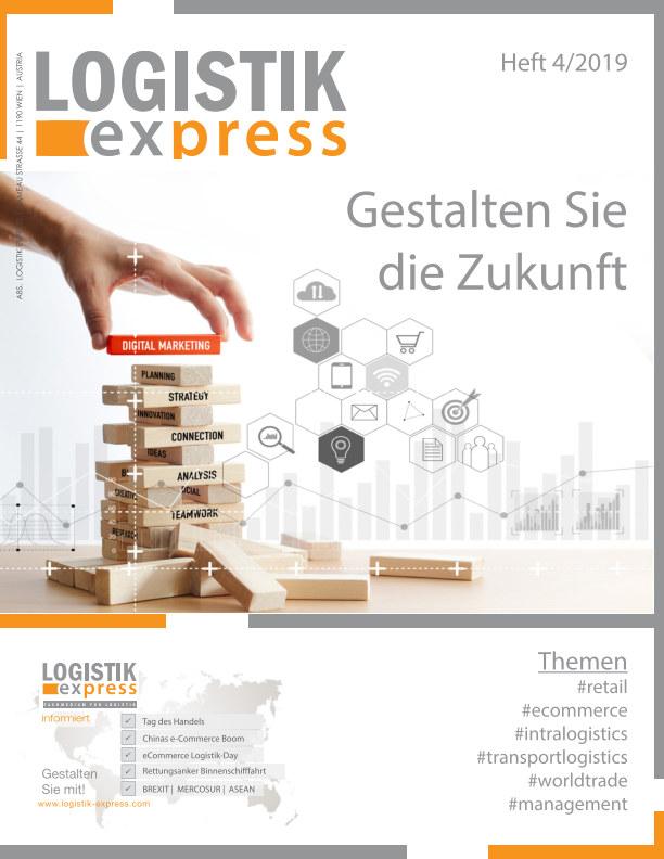 View LOGISTIK express Ausgabe 4/2019 by Markus Jaklitsch