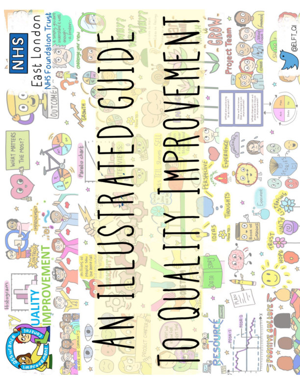 Visualizza An Illustrated Guide to Quality Improvement di ELFT and Sonia Sparkles