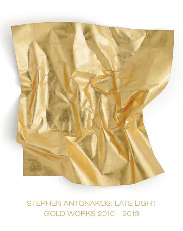 View Stephen Antonakos: Late Light / Gold Works 2010-2013 by Loretta Howard Gallery