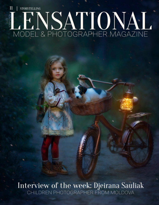 Visualizza LENSATIONAL Model and Photographer Magazine #11 Issue | Storytelling - November 2019 di Lensational Magazine