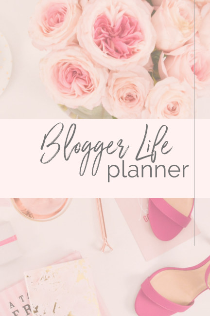 View Blogger Life Planner by Steph Thorne