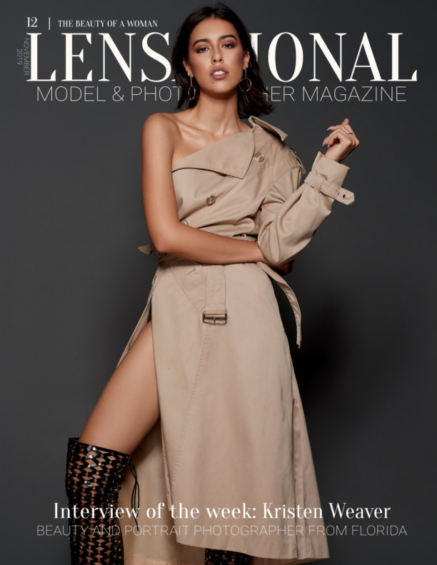 Visualizza LENSATIONAL Model and Photographer Magazine #12 Issue | The beauty of a woman - November 2019 di Lensational Magazine