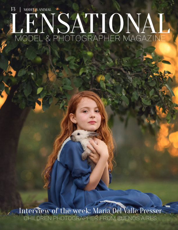 View LENSATIONAL Model and Photographer Magazine #13 Issue | Model and Animal - November 2019 by Lensational Magazine