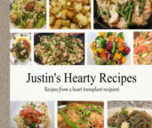 Justin's Hearty Recipes book cover