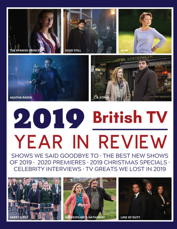 View 2019 British TV Year in Review Magazine by Stefanie Hutson, David Ford