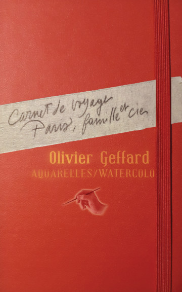 View Carnet de voyage Paris, famille et Cie by Geffard