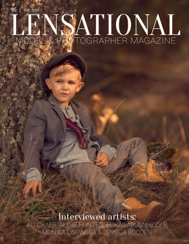 View LENSATIONAL Model and Photographer Magazine #16 Issue | Top 2019 - December 2019 by Lensational Magazine