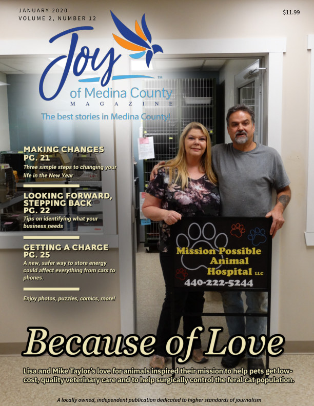 View Joy of Medina County Magazine January 2020 by Blake House Publishing, LLC