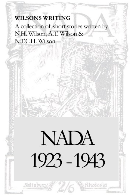 View Wilsons Writing NADA by Clare Fryer