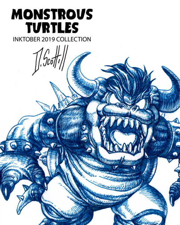 View Monstrous Turtles by Darius Scott HIll