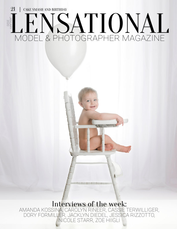 View LENSATIONAL Model and Photographer Magazine #21 Issue | Cake smash and Birthday - January 2020 by Lensational Magazine