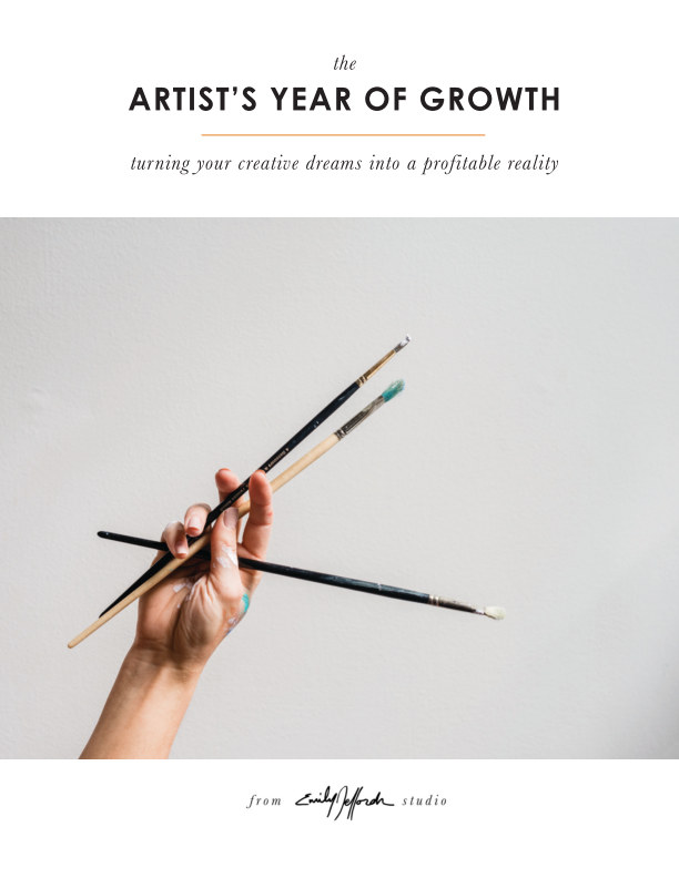 Visualizza Artist's Year of Growth di Emily Jeffords
