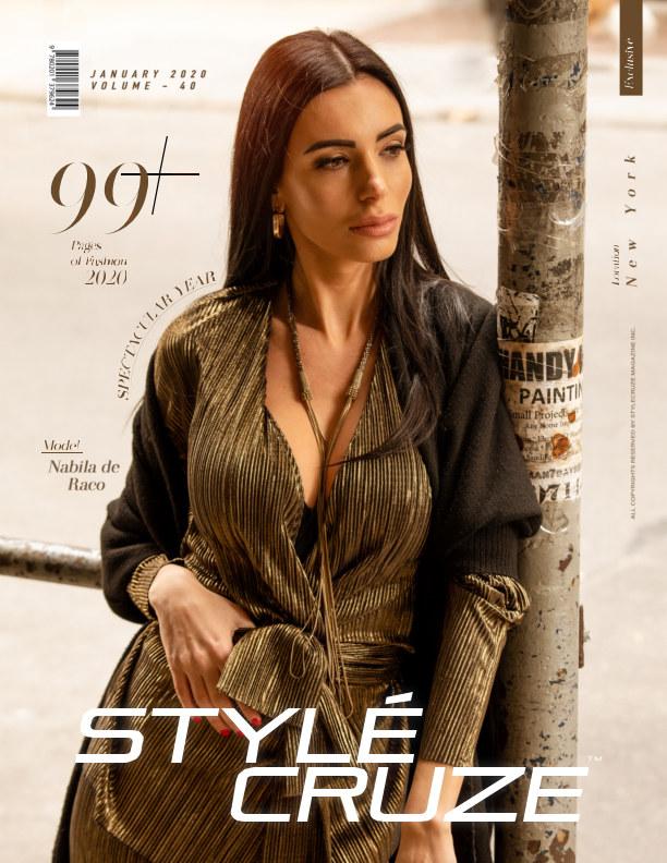 View January 2020 Issue (Vol: 40)   STYLÉCRUZE Magazine by Divyesh Pillarisetty