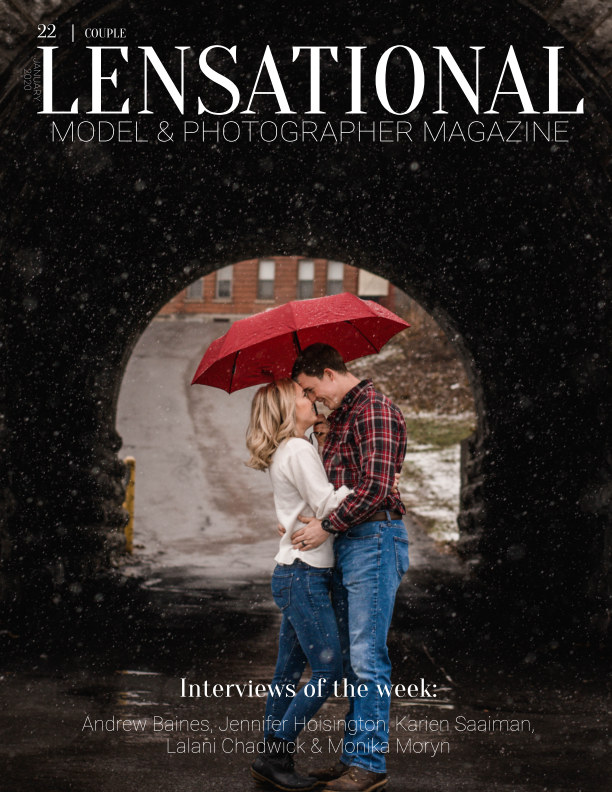 View LENSATIONAL Model and Photographer Magazine #22 Issue | Couple - January 2020 by Lensational Magazine