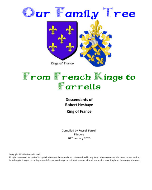View From French Kings to Farrells by Russell John Farrell