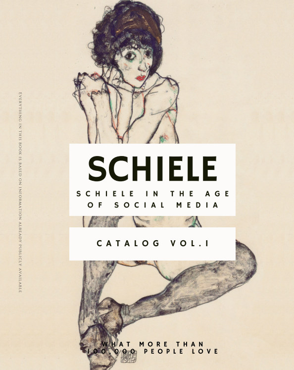 "View Schiele ""Schiele in the Age of Social Media"" by Egon Schiele Store"