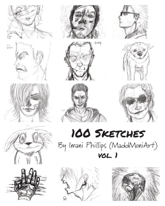 View 100 Sketches by Imani Phillips