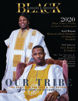 Our tribe magazine book cover