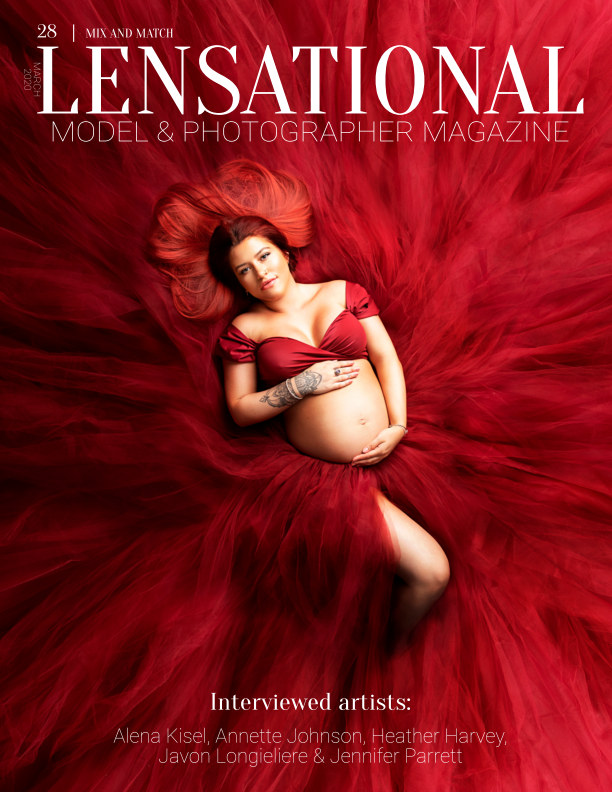 View LENSATIONAL Model and Photographer Magazine #28 Issue | Mix and Match - March 2020 by Lensational Magazine