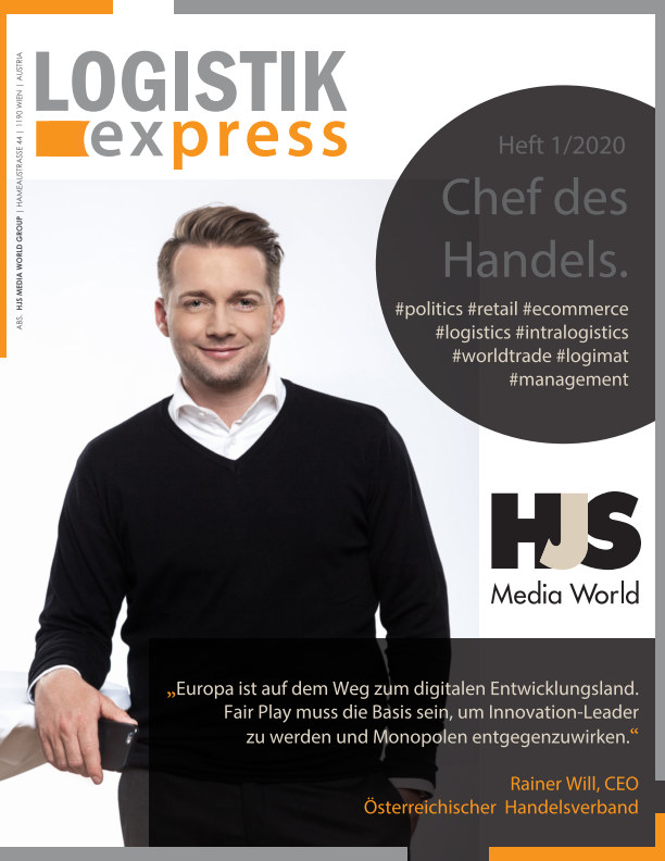 View LOGISTIK express Journal 1/2020 by HJS MEDIA WORLD