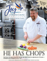 Joy of Medina County Magazine April 2020 book cover