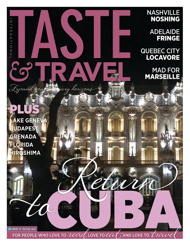View Taste and Travel International by Taste and Travel Magazine