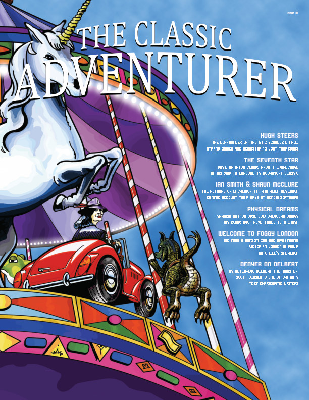 View The Classic Adventurer - Issue 08 by Mark James Hardisty