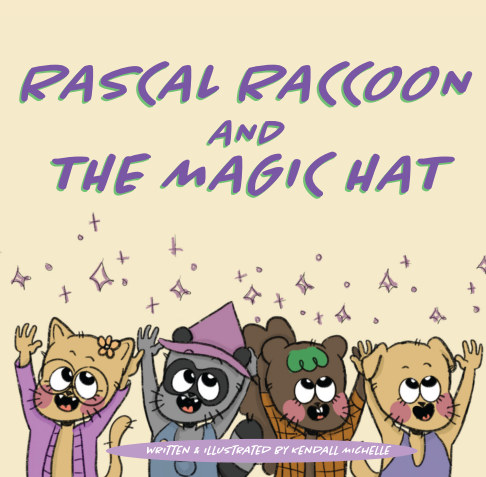 Visualizza Rascal Raccoon and The Magic Hat di Kendall Michelle