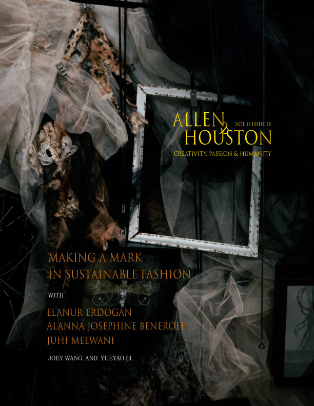 View Making a Mark in Sustainable Fashion by Allen and Houston Magazine