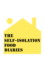 The Self-Isolation Food Diaries book cover