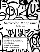 Semicolon Magazine; Vol.1 book cover