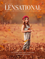 LENSATIONAL Model and Photographer Magazine #41 Issue | Children - May 2020 book cover