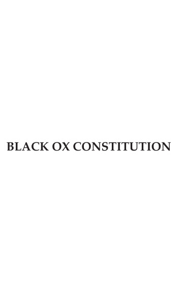 View Black Ox Constitution by Steven Montinar