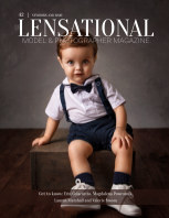 LENSATIONAL Model and Photographer Magazine #42 Issue | Newborn and baby - May 2020 book cover