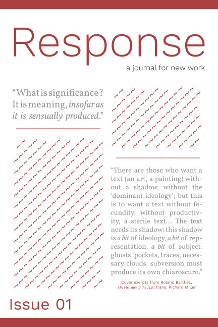View Response, Issue 01 by The Work and Response
