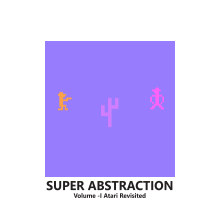 SUPER ABSTRACTION VOL -I Atari Revisited book cover
