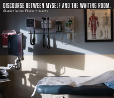 Discourse Between Myself and the Waiting Room book cover
