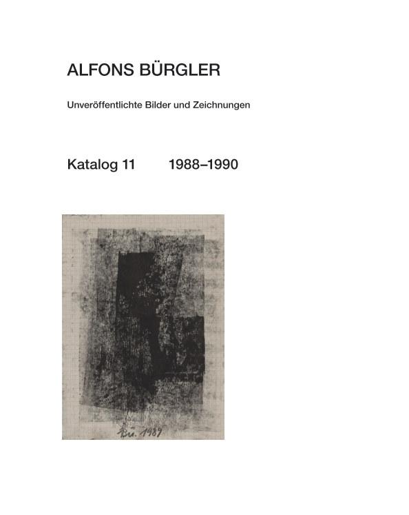 Katalog 11 nach ALFONS BÜRGLER anzeigen