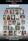 Testimonies From the Heart: A Holocaust Anthology--Hard Cover book cover