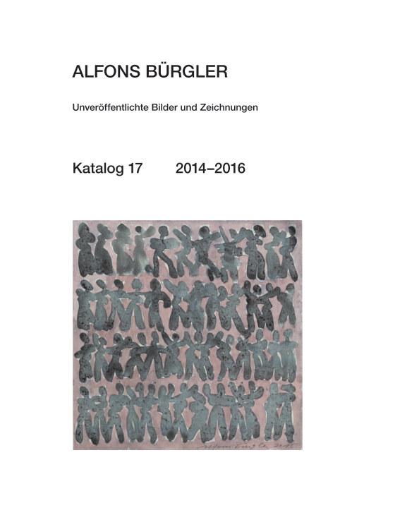 Katalog 17 nach ALFONS BÜRGLER anzeigen
