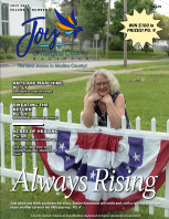 Joy of Medina County Magazine July 2020 book cover