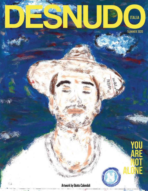 Ver Desnudo Magazine Italia Issue 7 - Giotto Calendoli Cover por Desnudo Magazine Italia