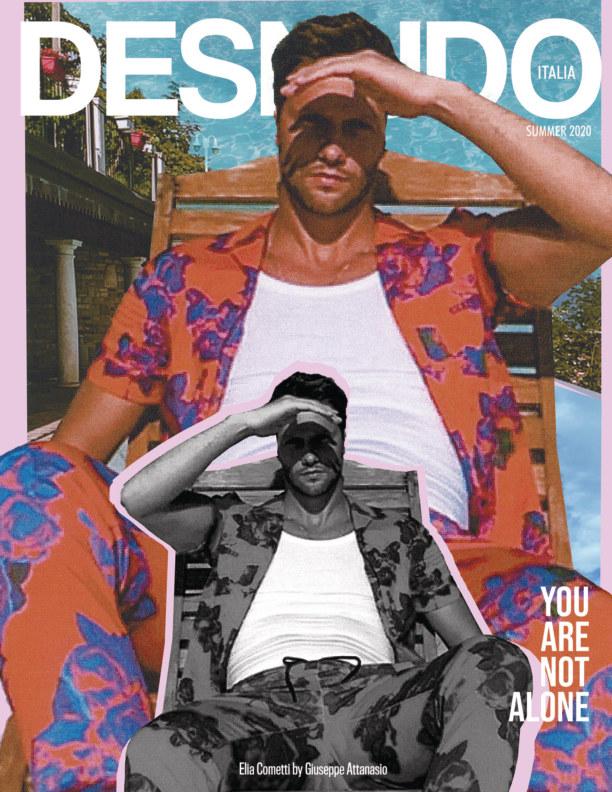 Ver Desnudo Magazine Italia Issue 7 - Elia Cometti Cover por Desnudo Magazine Italia
