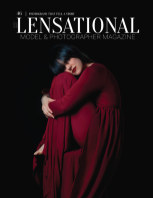 LENSATIONAL Model and Photographer Magazine #46 Issue | Photograph that tell a story - June 2020 book cover