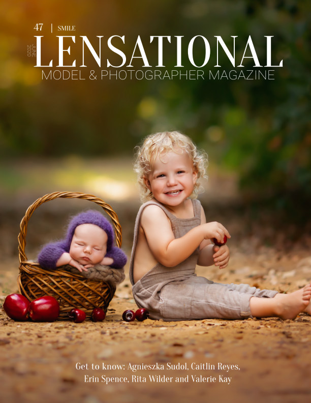 View LENSATIONAL Model and Photographer Magazine #47 Issue | Smile - June 2020 by Lensational Magazine