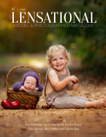 LENSATIONAL Model and Photographer Magazine #47 Issue | Smile - June 2020 book cover