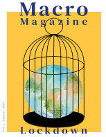 Macro, Vol. 1, Summer, 2020, Lockdown book cover
